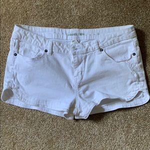 Hang Ten White Jean Shorts